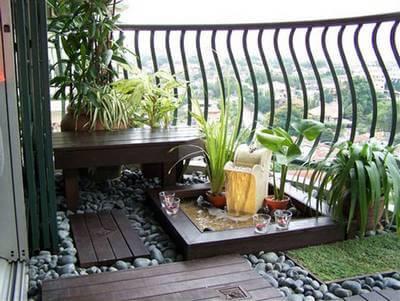 Quelques plantes pour un petit balcon