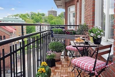 Un balcon mellifère, ami des abeilles
