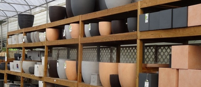 Les poteries seront votre touche d'élégance au jardin