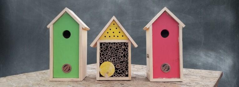 Les hôtels à insectes pour votre jardin